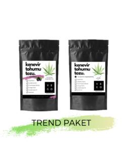 Vegovego Kenevir Protein Tozu - Trend Paket